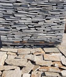 Неоформена дребна облицовка от естествен камък