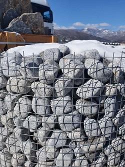 Гранитни овални камъчета