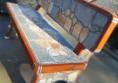 бетонова пейка за двора
