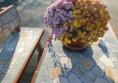 бетонова маса за двора