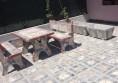 Циментови маса с пейки (Small)