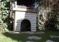камина за градина стил