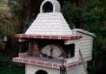 покрив за пещ на дърва