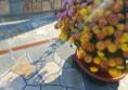 маса за двора с естествен камък