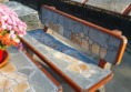 бетонова пейка за къщата