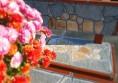 бетонова пейка с камък Раймар (1)
