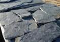 черен естествен камък