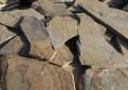 cream beige stones tiles poligonal