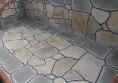 мебели за градина маса плот камък (10)