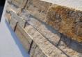 пясъчнозлатист камък мозайка стена камък Раймар (10)