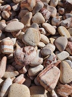 Овални камъчета Дъга